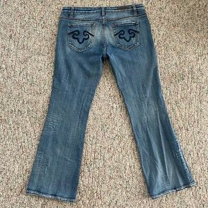 Express ReRock Jeans Bootcut Flare Size 10